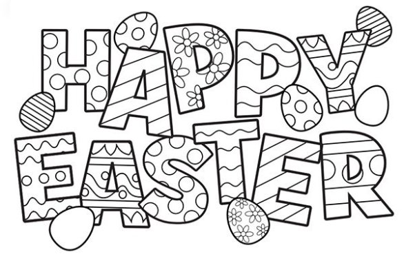 Easter 2020 Coloring Pages