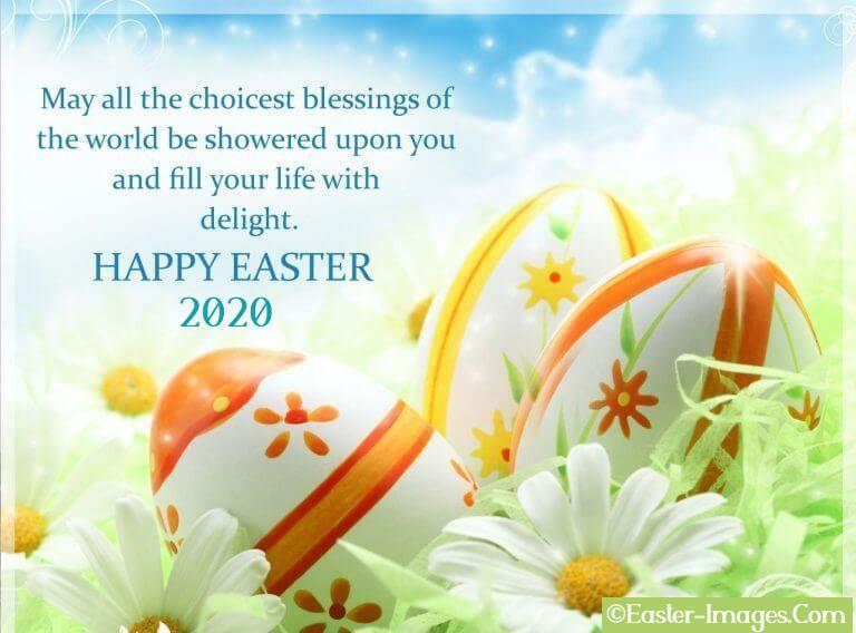 Easter Greetings 2020