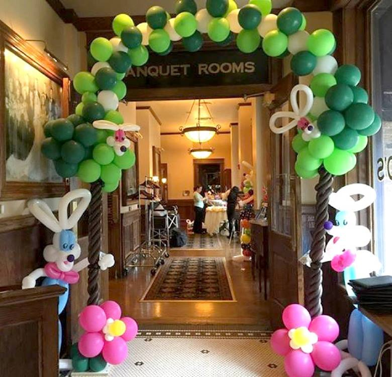 Easter Balloon Decoration For Party