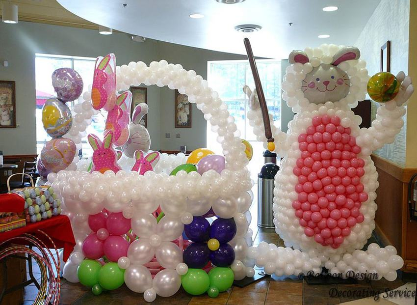 Easter Balloons For Home Decoration