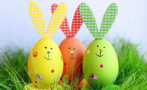 Easter Egg Became Bunny