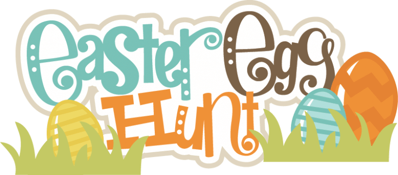 Easter Egg Hunt Game Clipart
