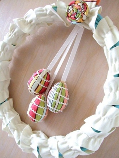 Easter Egg Wreaths
