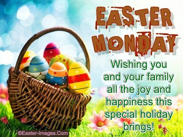 Easter Monday Wishes Messages