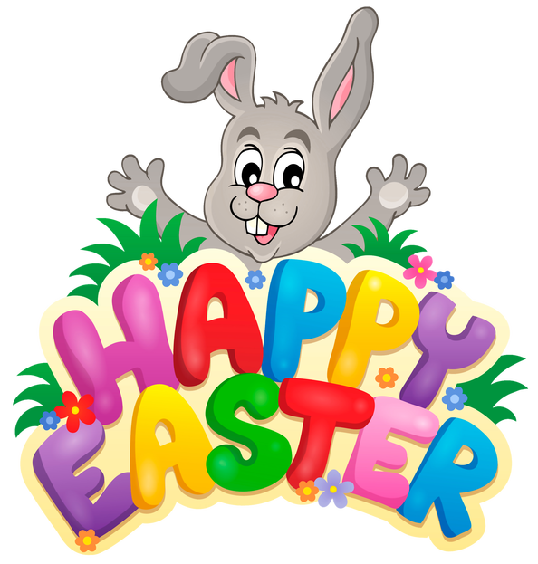 Happy Easter 2020 Clipart