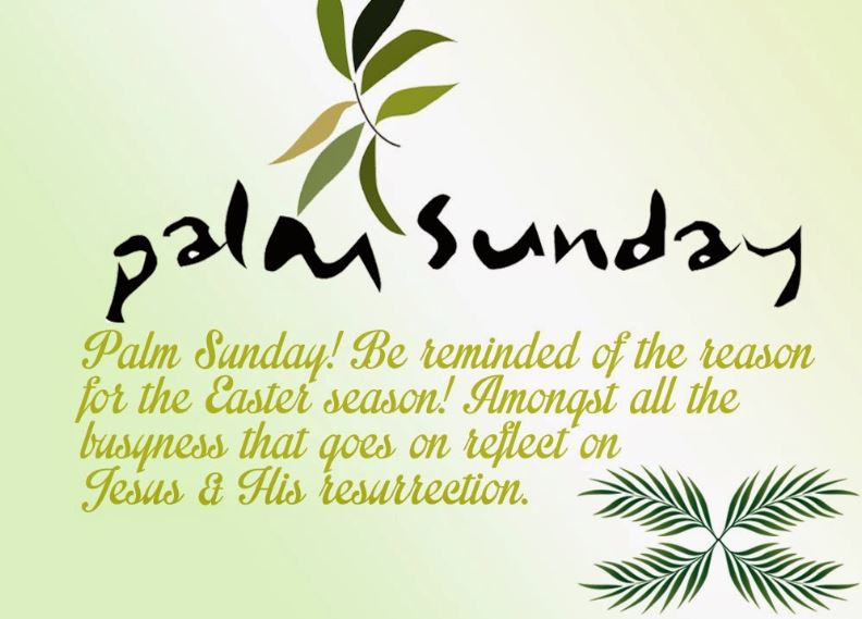 Palm Sunday 2020 Wishes