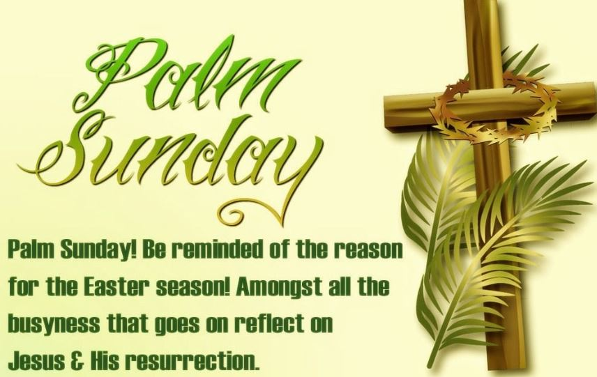 Wishes For Palm Sunday