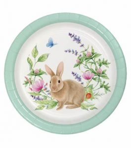 Bunny Plates For Easter Dinner