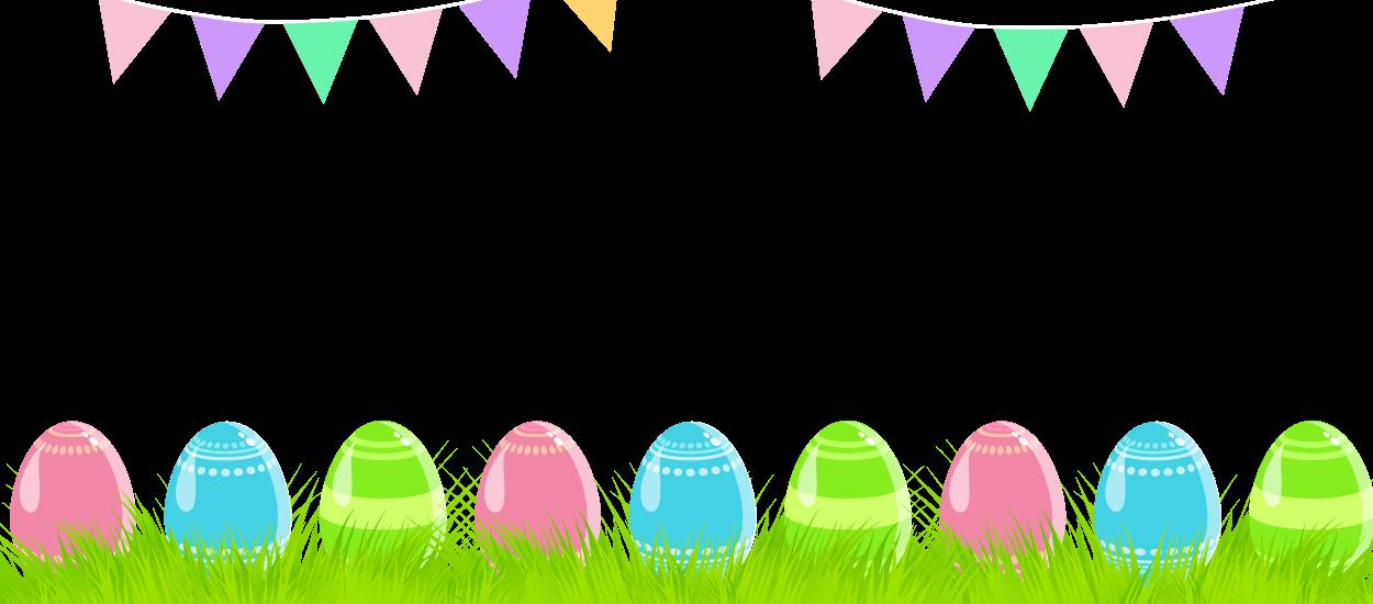 Easter Banner Clipart