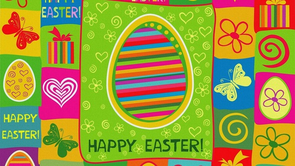 Easter Wallpaper Design