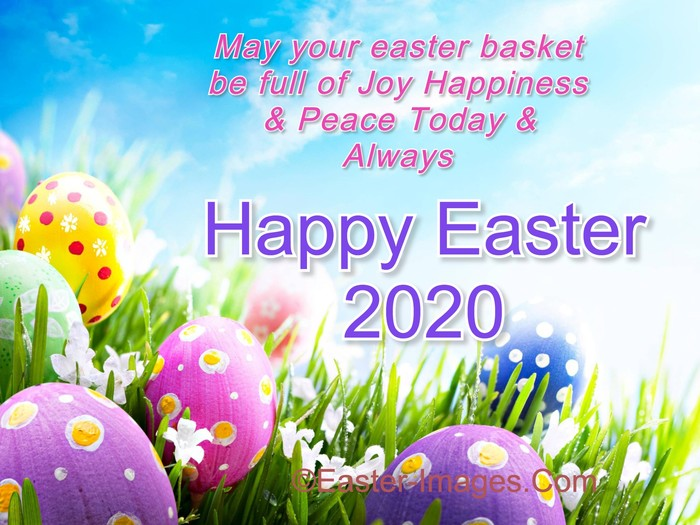 Happy Easter 2020 Wishes Pics