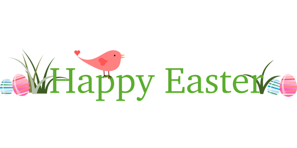 Happy Easter Banner Clipart